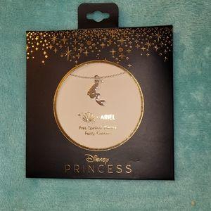 Disney's The Little Mermaid Ariel dainty necklace